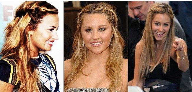 Pinned Back Braid Hairstyles