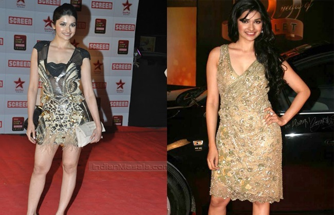 Prachi Desai Dresses in Apasara Award Ceremony