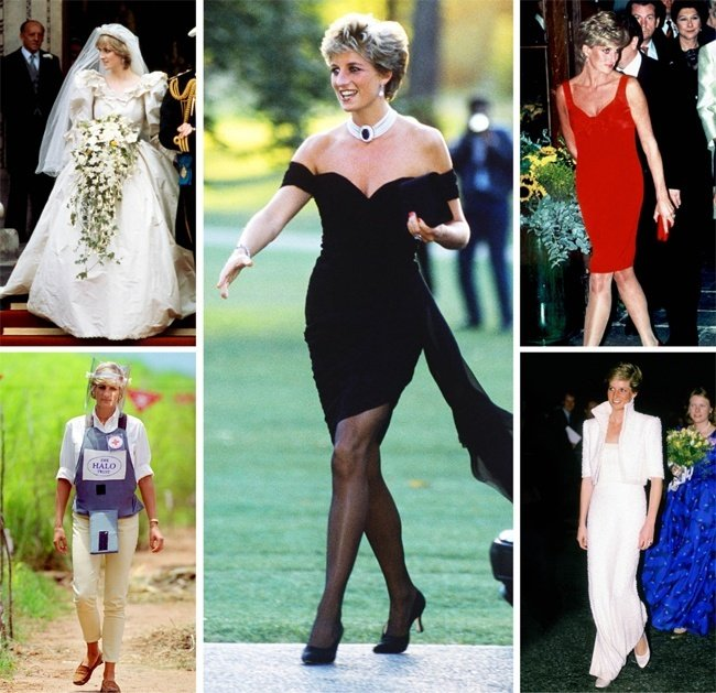 Princess Diana Icons of 80s