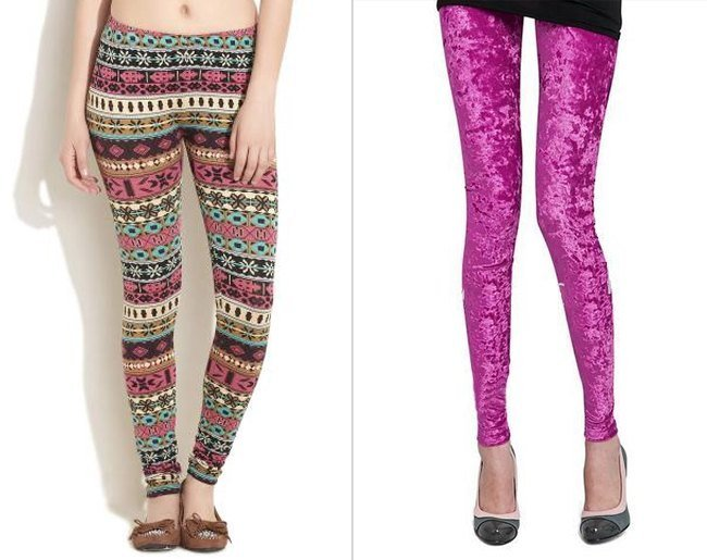 Printed Tights Leggings
