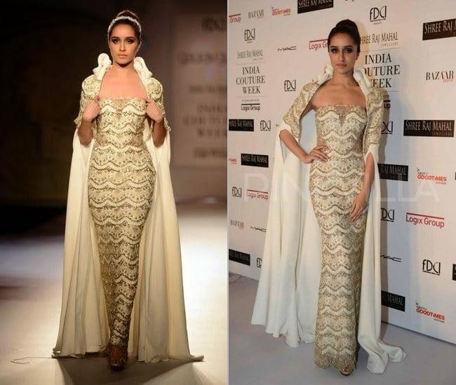 Shraddha Kapoor at India Couture Week 2014