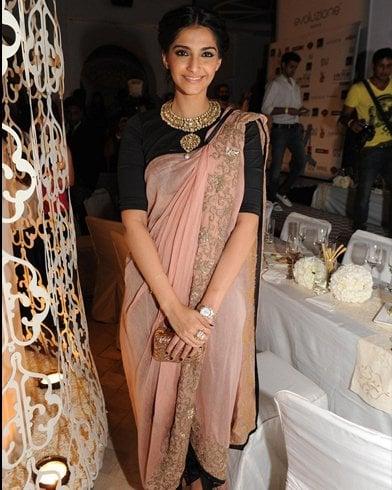 Sonam Kapoor Dhoti Saree