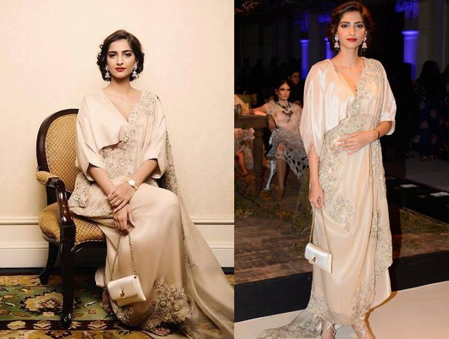 Sonam Kapoor In Anamika Khanna Fashion