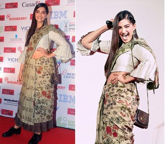 Sonam Kapoor In Anavila Misra