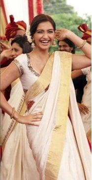 Sonam Kapoor In Kerala Saree