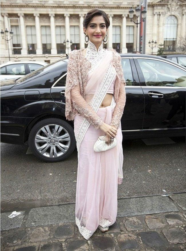 Sonam Kapoor at Paris Fashion Week