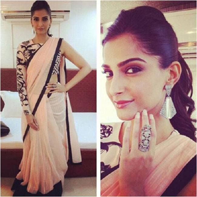 Sonam Kapoor in Payal Singhal