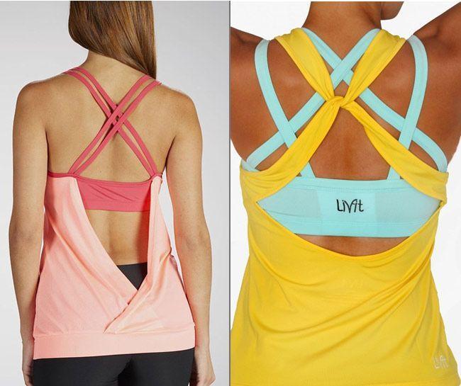 Sports bras under tops Gym wear