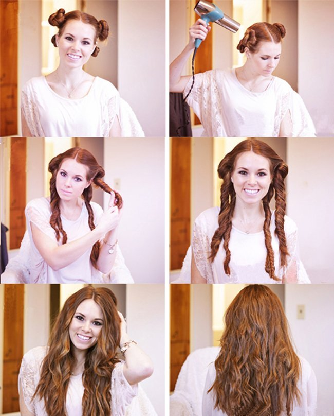 Steps to make waves Hairstyle