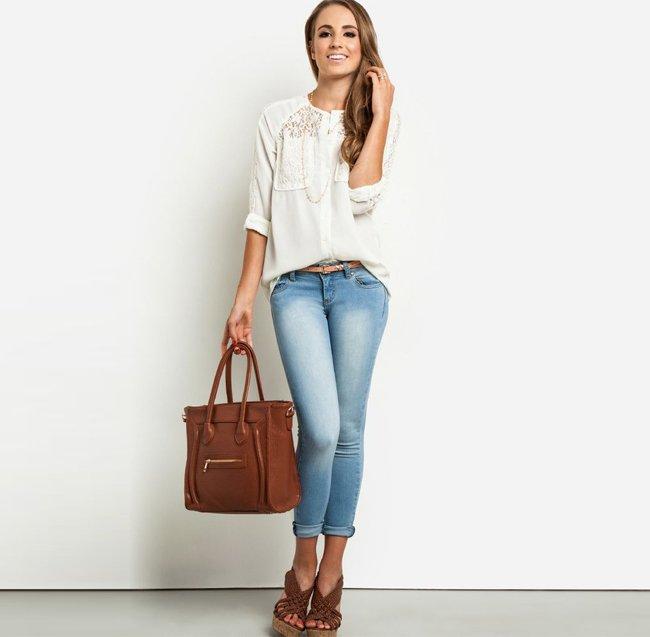 A Structured Handbag