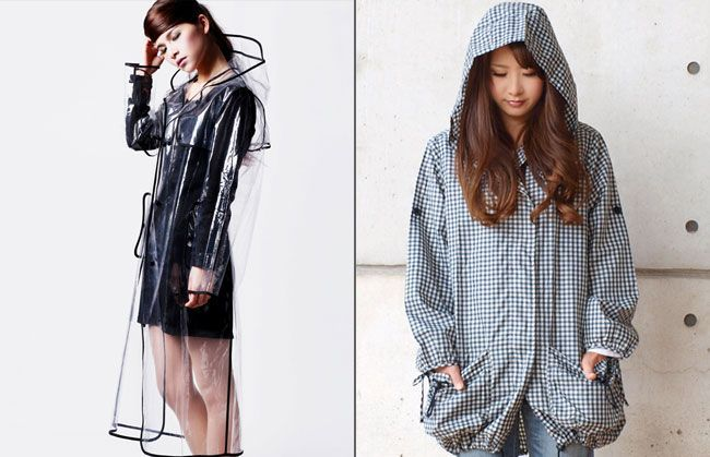 Stylish Monsoon Outfits Trendy Raincoats