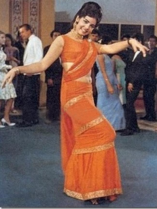 The Orange Mumtaz Saree