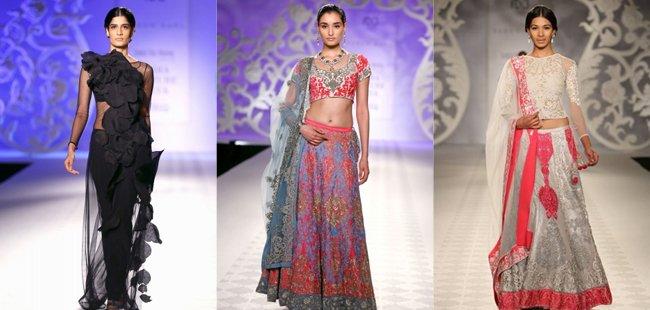 Varun Bahl Anarkalis India Couture Week 2014