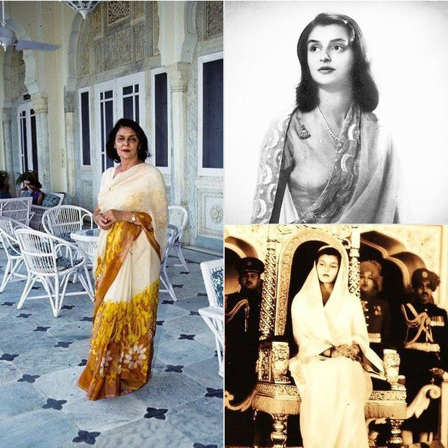 Stylish Women Maharani Gayatri Devi