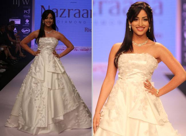 Yami Gautam in Nazraana Collection IIJW 2014