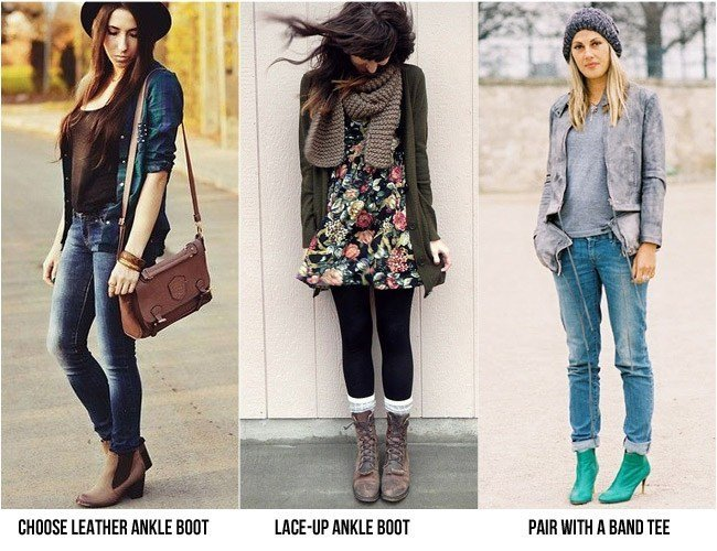 Ankle boots for everyday look