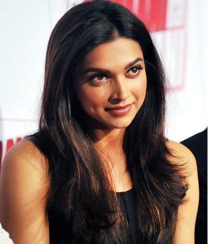 Deepika Padukone Feather Cut Hairstyle