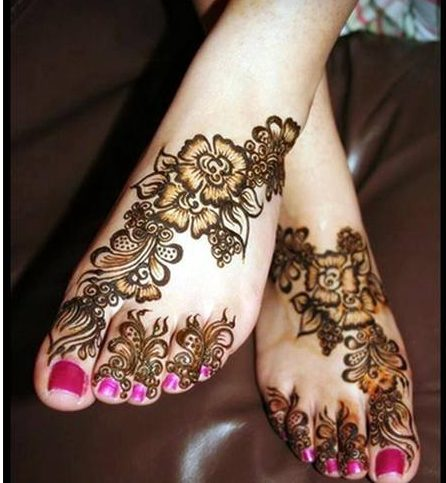 Eid mehendi designs for legs