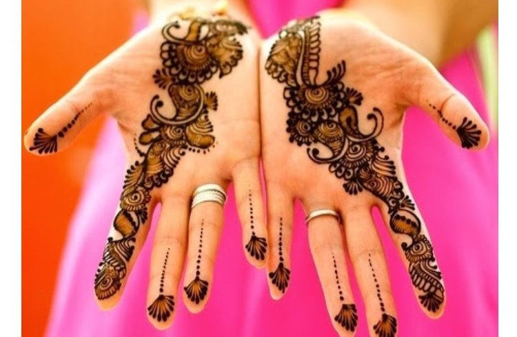 Mehndi Designs For Hands Eid : Latest new and fancy ramzan mehndi designs eid special