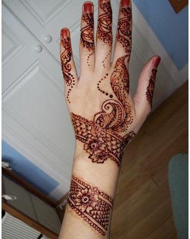 Eid mehndi for hands