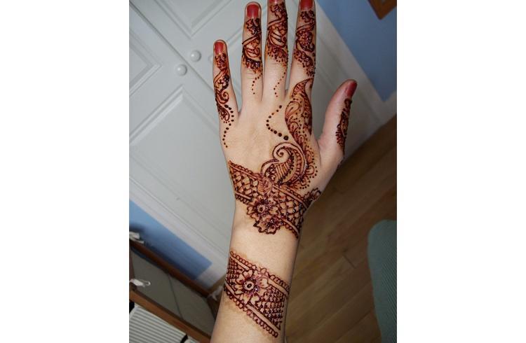 Eid Mehndi For Hands Design Arabic Easy