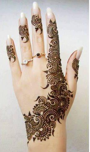 Eid mehndi patterns
