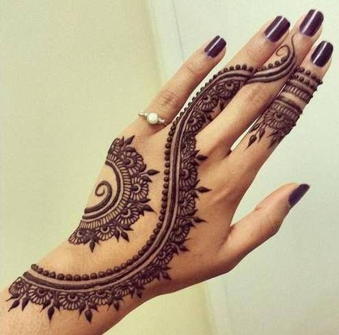 Fancy eid mehndi