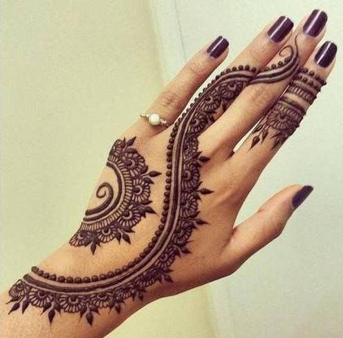 Fancy eid mehndi