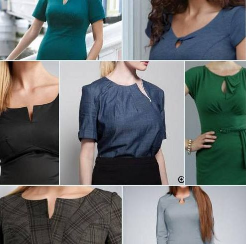 neck for Large bust women