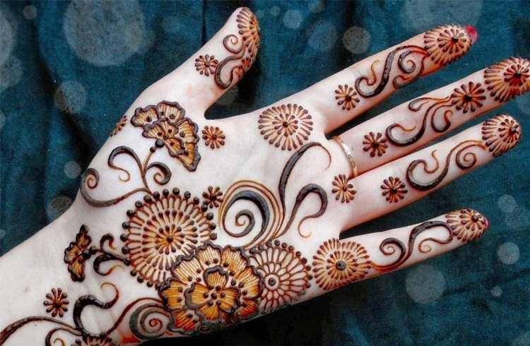 New Designs Mehndi Hands : Latest new and fancy ramzan mehndi designs u eid special