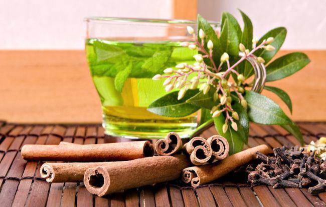 Green Tea with Ginger & Cinnamo