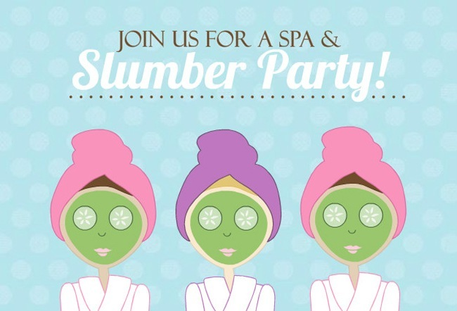 Ideas for Spa Parties