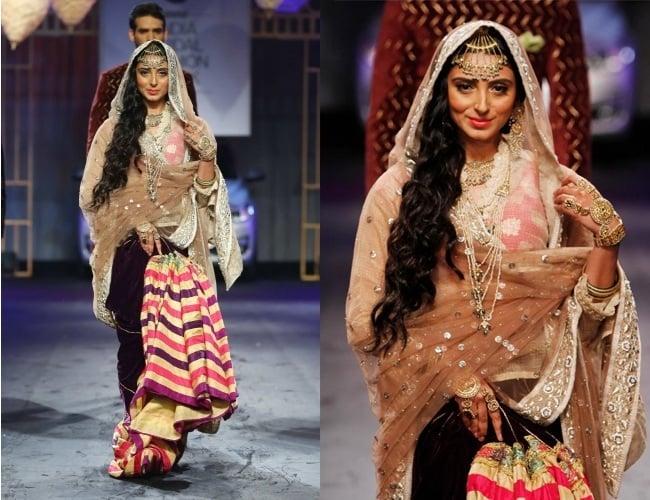 Pernia Qureshi for Meera & Muizzafar Ali