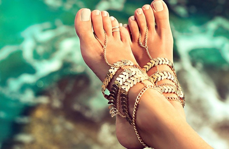 Bohemian Anklets