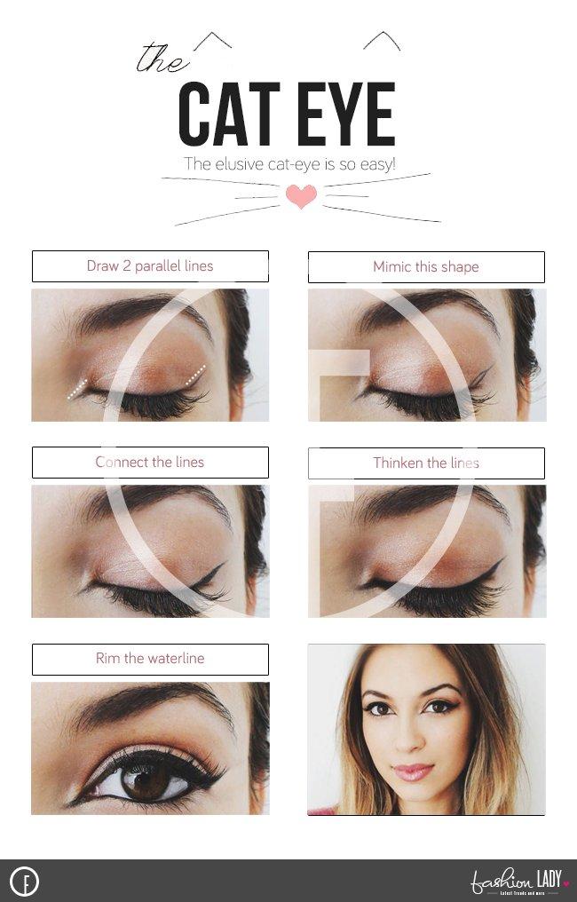 Simple Cat Eye Makeup Cat Eye Makeup