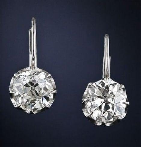 Christie Diamond Drop Earrings