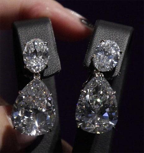 Diamond Drop Earrings From The House Of Harry Winston