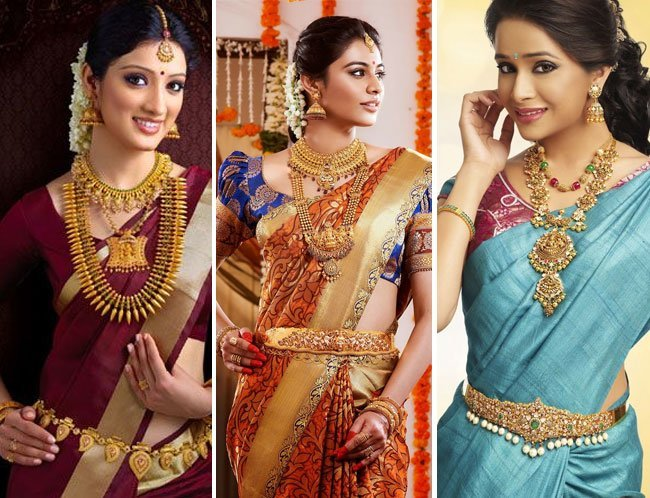 traditional South Indian Bridal Sarees