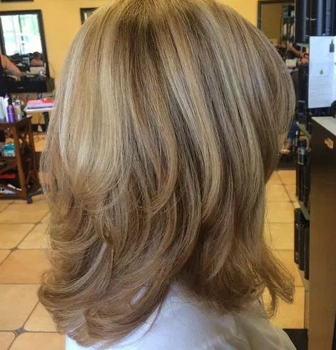 A Layered Cut for Women Over 50