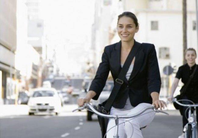 Biking Women