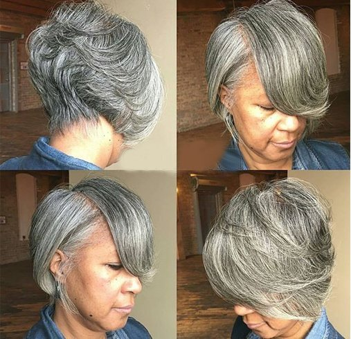 Bob With Tapered Nape