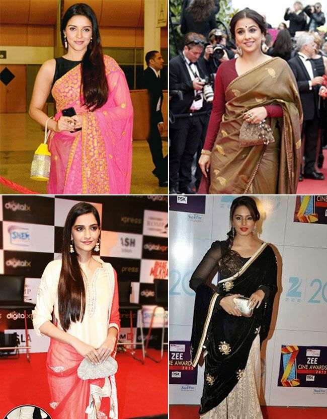Bollywood celebrities with Potli Clutch and Batua Bags