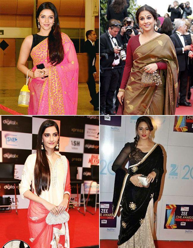 Bollywood celebrities with Potli Clutch and Batua Bags