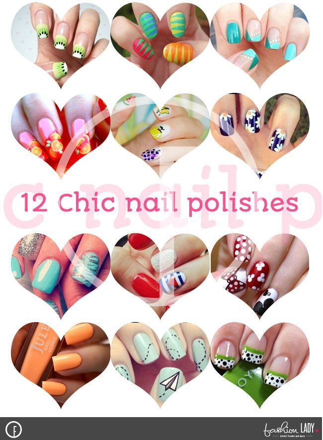 Chic Nail Polishes for Short Nails
