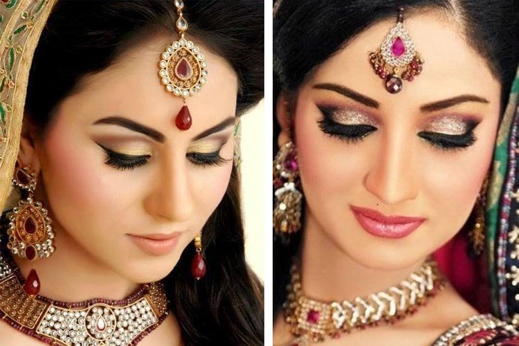 Gold Eye Shadow Makeup