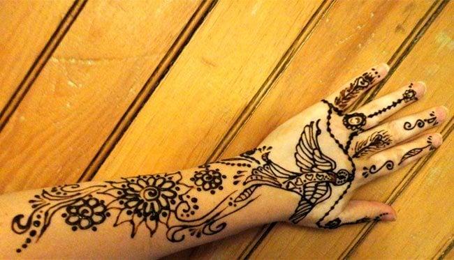 Bird Henna Tattoo: Unfold Deeper Meanings & Significances