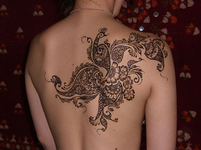 Mehndi Tattoo Hip : Henna tattoos for your shoulder u get creative with inspiring designs
