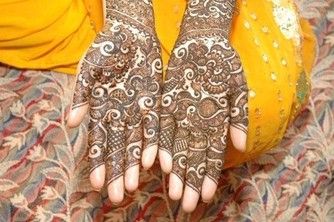 Henna Water Designs