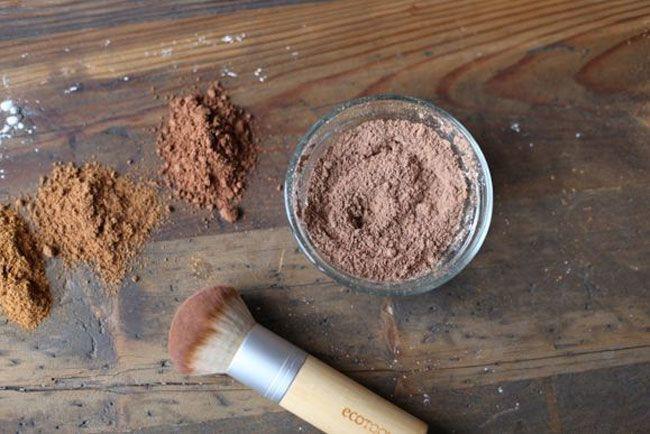 Homemade Blush Bronzer and Eye shadow