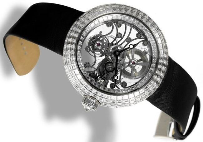 Jacob Co Crystal Tourbillon